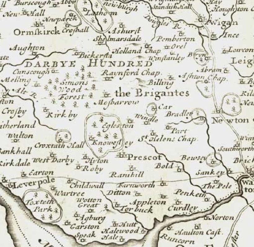 1695-map- Prescot