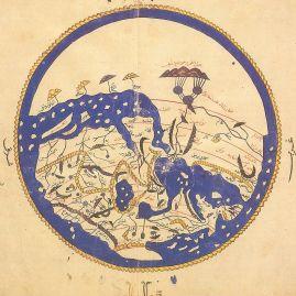 Mapa de-Al-Idrisi (Al Andalus)